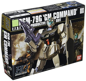 "Bandai Hobby HGUC 1/144 #46 RGM-79G GM Command Gundam 0080"" Model Kit"