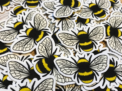 Bumblebee Mini Sticker Pack (20 pack) - Waterproof Vinyl