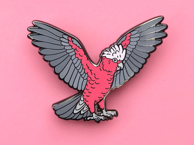 Bondi The Galah Hard Enamel Pin