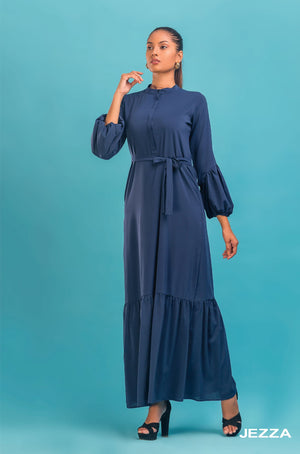 JEZZA Women's Long Sleeve Maxi Dress AUJZ30362
