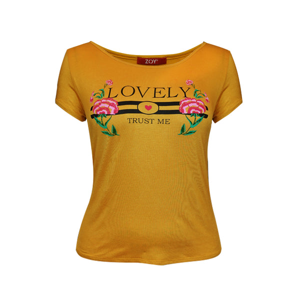 "Playera estampado ""Love"" (4464503881770)"