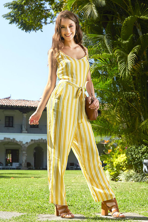 Jumpsuit a rayas. (4452646584362)