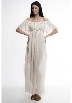 ELIZ OFF THE SHOULDER MAXI DRESS