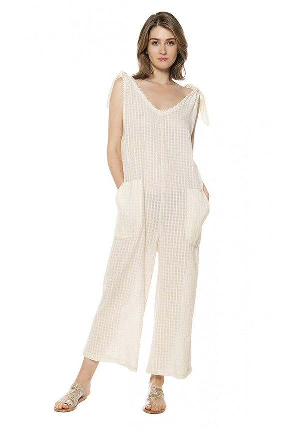 FRANKIE SLEEVELESS JUMPSUIT