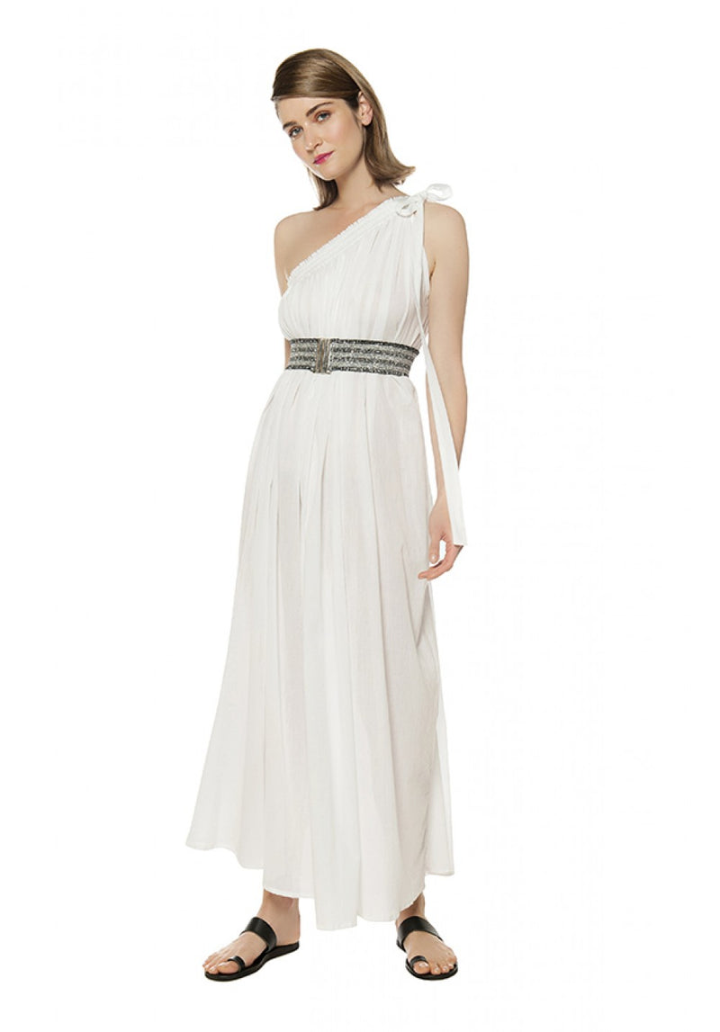 GRACE ONE-SHOULDER MAXI DRESS