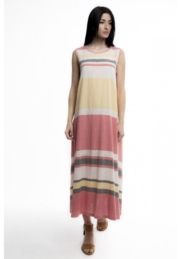 DAISY MULTISTRIPE DRESS