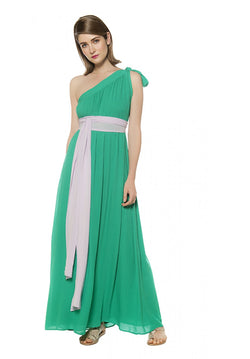 JADA ONE SHOULDER MAXI DRESS