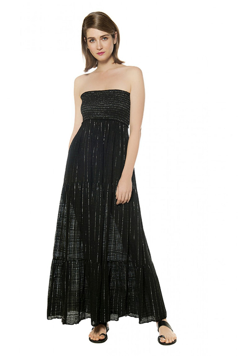 LILY STRAPLESS MAXI DRESS