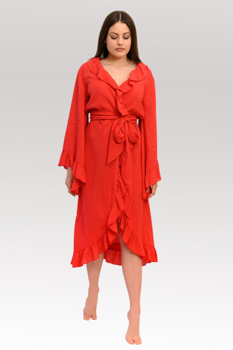 PAOLITA WRAP DRESS