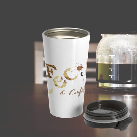 Cafecito Stainless Steel Travel Mug