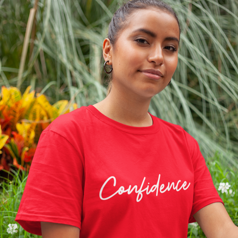 CONFIDENCE Short-Sleeve Unisex T-Shirt