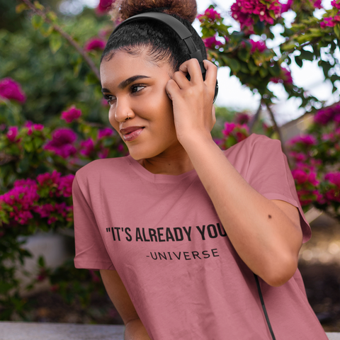 MESSAGE FROM THE UNIVERSE Short-Sleeve Unisex T-Shirt