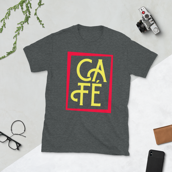 CAFE IN COLOR Short-Sleeve Unisex T-Shirt - Cafecito & Confidence