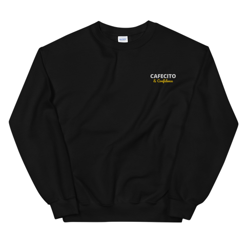 CAFECITO AND CONFIDENCE Unisex Sweatshirt