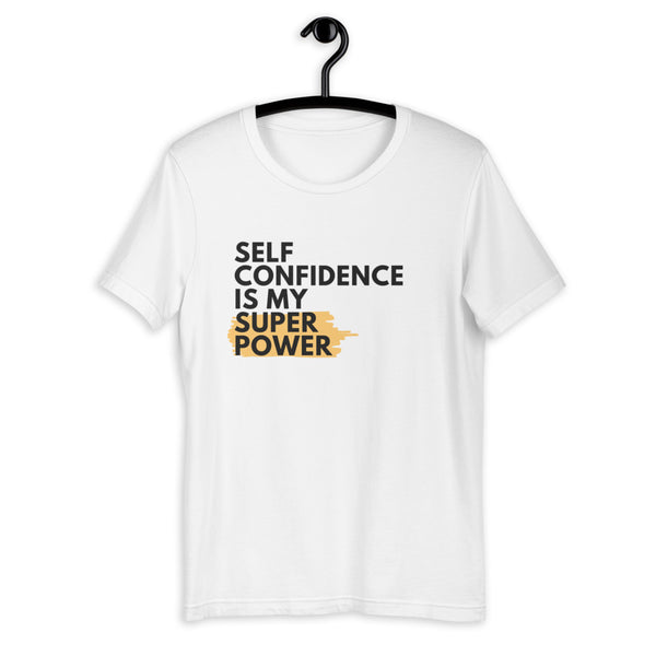 MY SUPERPOWER Short-Sleeve Unisex T-Shirt - Cafecito & Confidence