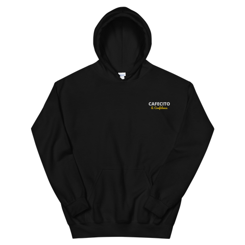 CAFECITO AND CONFIDENCE EMBROIDERED Unisex Hoodie