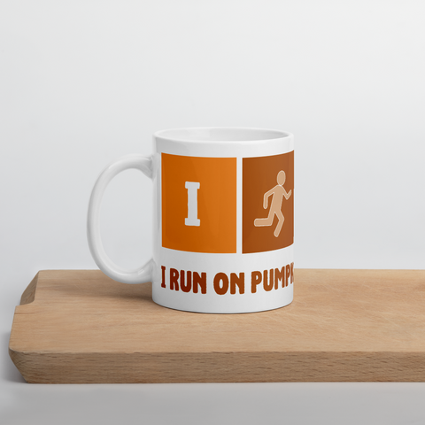 I RUN ON PSL Mug