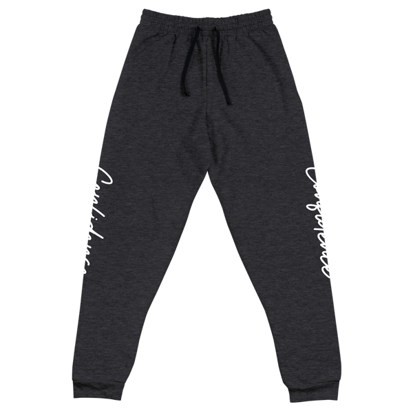 CONFIDENCE Unisex Joggers - Cafecito & Confidence