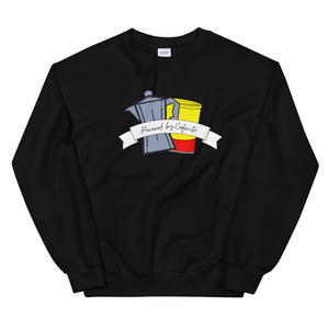 Powered by Cafecito Unisex Sweatshirt
