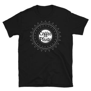 Coffee Please White Short-Sleeve Unisex T-Shirt - Cafecito & Confidence