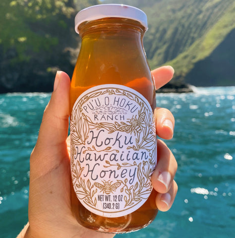 Raw Hoku Hawaiian Honey (12 oz)