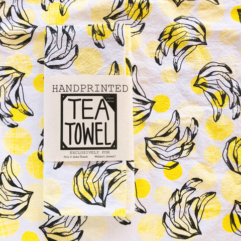 Banana Bunch Tea Towel