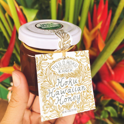 Raw Hoku Hawaiian Honey (4.5 oz)