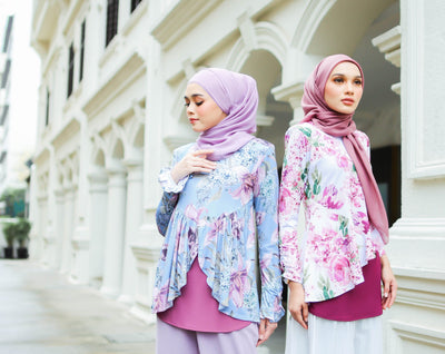 Cecilia & Sandra Printed Ironless Blouse