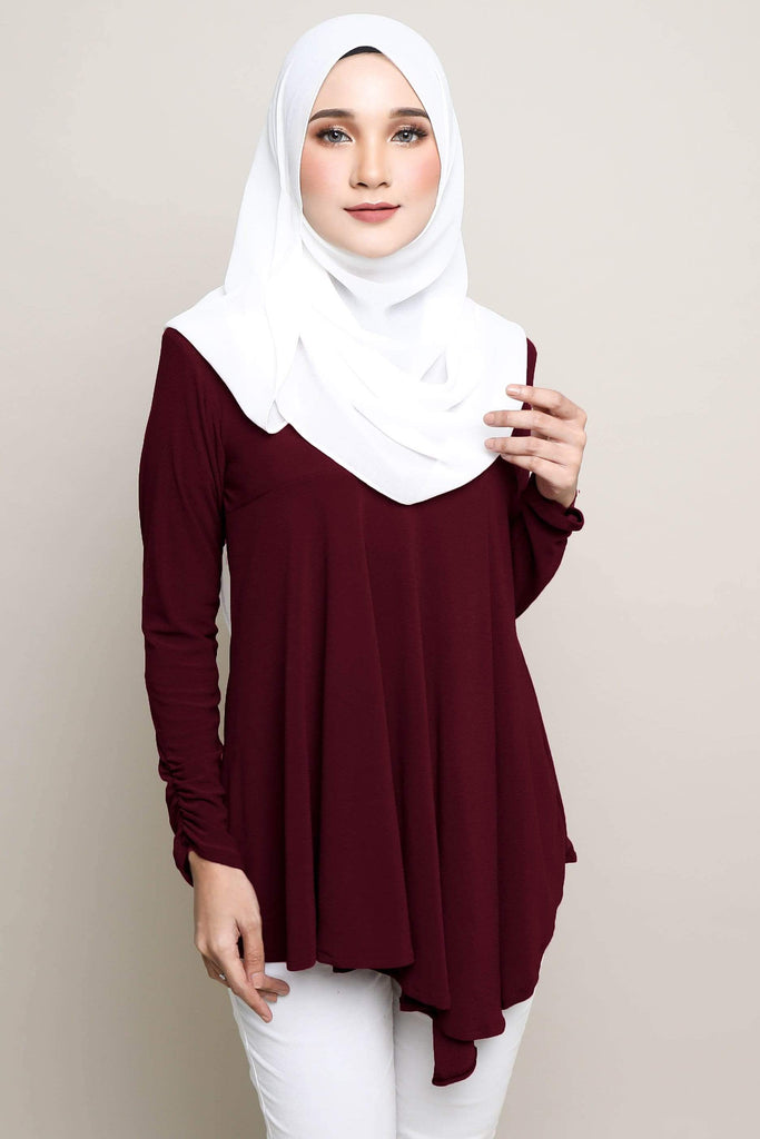 Lisa Ironless Blouse - Zoffya