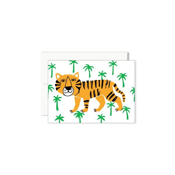 CARTE MINI - TIGRE