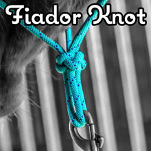 Load image into Gallery viewer, Do Or Do Knot Rope Halter