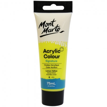 Acrylic Paint 75ml - Lemon Yellow