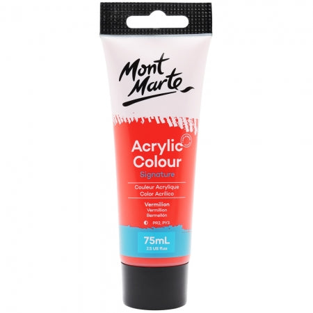 Acrylic Paint 75ml - Vermilion
