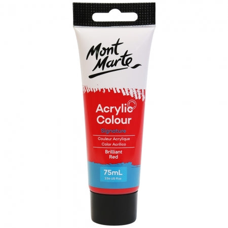 Acrylic Paint 75ml - Brilliant Red