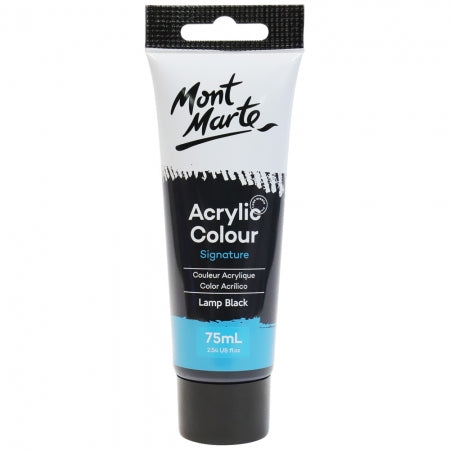Acrylic Paint 75ml - Lamp Black
