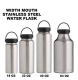 Sipper lid flask bottle
