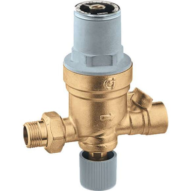 553549A AutoFill Automatic Boiler Fill Valve, Pressure Indicator, 1/2-Inch Sweat Inlet by 1/2-Inch