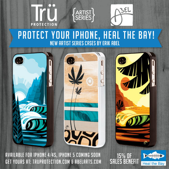 Erik Abel Tru Protection iPhone Case for Heal the Bay