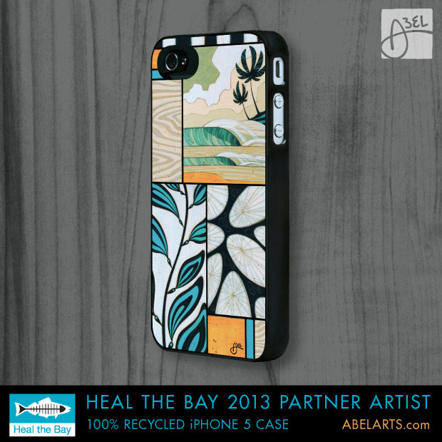 Erik Abel recycled iPhone 5 case heal the bay