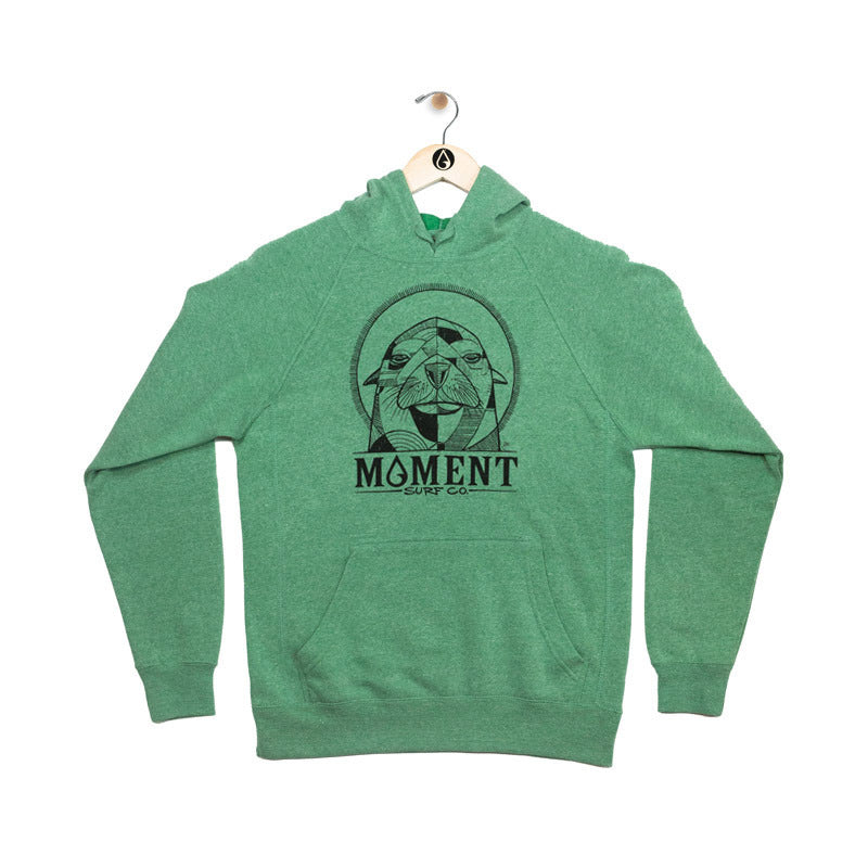 Moment Surf Co Abel Collab, Sealion Hoodie