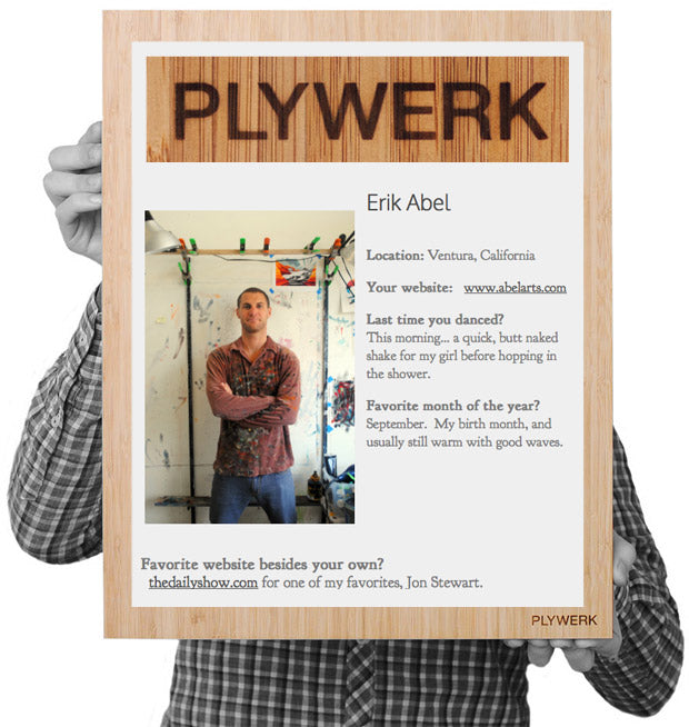 Plywerk Interview Erik Abel