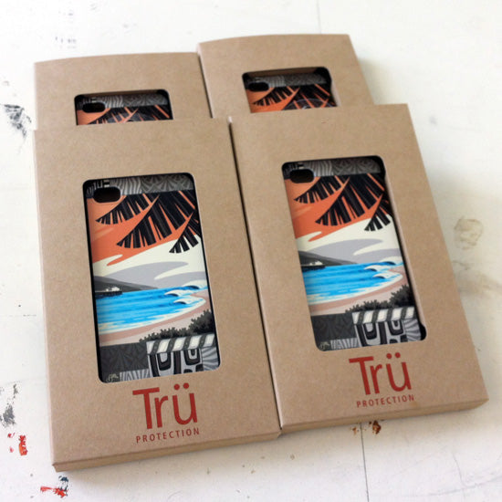 tru protection iPhone case by Erik Abel for SurfAid
