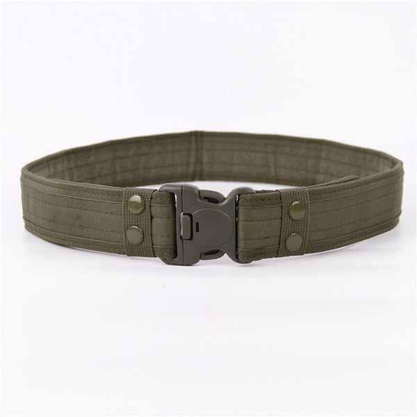 New Army Style Combat Belts Quick Release Tactical Belt