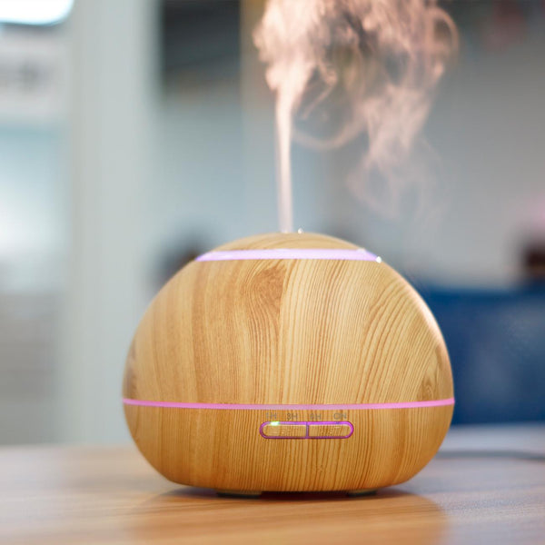 300ML Electric Air Humidifier  Aroma Essential Oil Diffuser