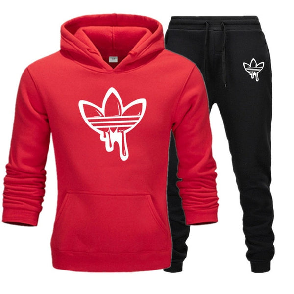 2019 New Two Pieces Set Fashion Hooded Sweatshirts Sportswear