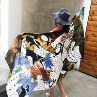 Women Oversized Large Scarf Summer Beach