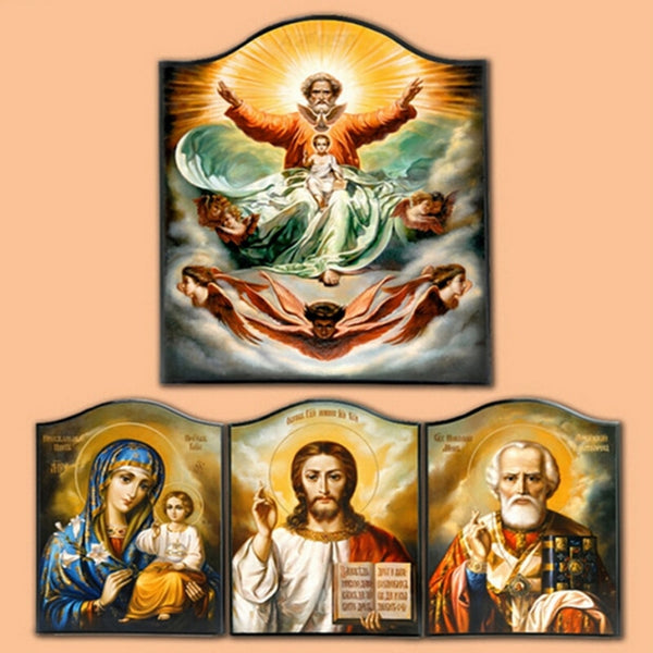 5d diy diamond painting religion