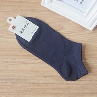 6pcs=3 Pairs/lot Spring Summer Men Cotton Ankle Socks