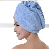 Women Bathroom Super Absorbent Quick-drying Thicker microfiber Bath Towel
