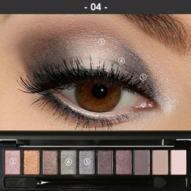 Makeup Palette Natural Eye Shadow